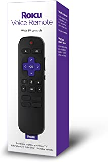 Roku Voice Remote (Official) for Roku Players and Roku TVs