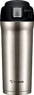 Zojirushi 象印 SM-YAE48TD 随行保温马克杯,16 盎司(约 473.18 毫升)黑巧克力色 Stainless 16盎司