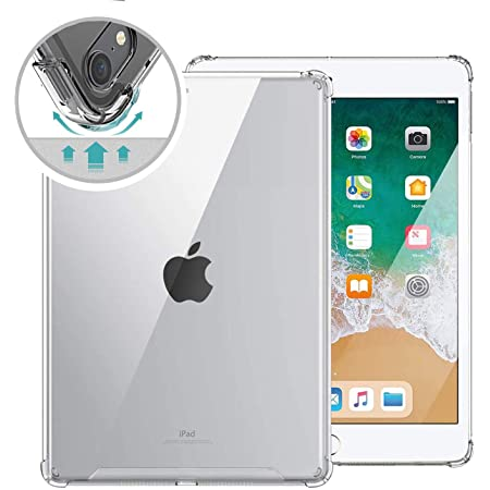 ORIbox Clear Case for iPad Pro 1st 11''(2018),Clear TPU Back Cover for iPad,11 inch,Clear