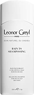 Leonor Greyl Paris Bain TS Shampooing - Balancing Shampoo for Oily Scalps and Dry Ends, 7 oz.