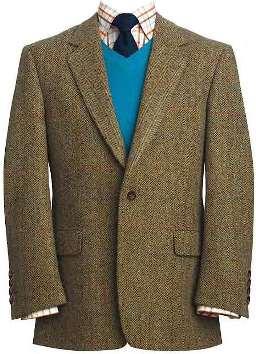 Harris Tweed Men's Jacket The Stromay