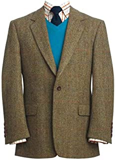 tweed coat men's outerwear