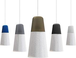 DILU - Lámpara de techo colgante para comedor y habitación. Diseño moderno. LED. Dorado.