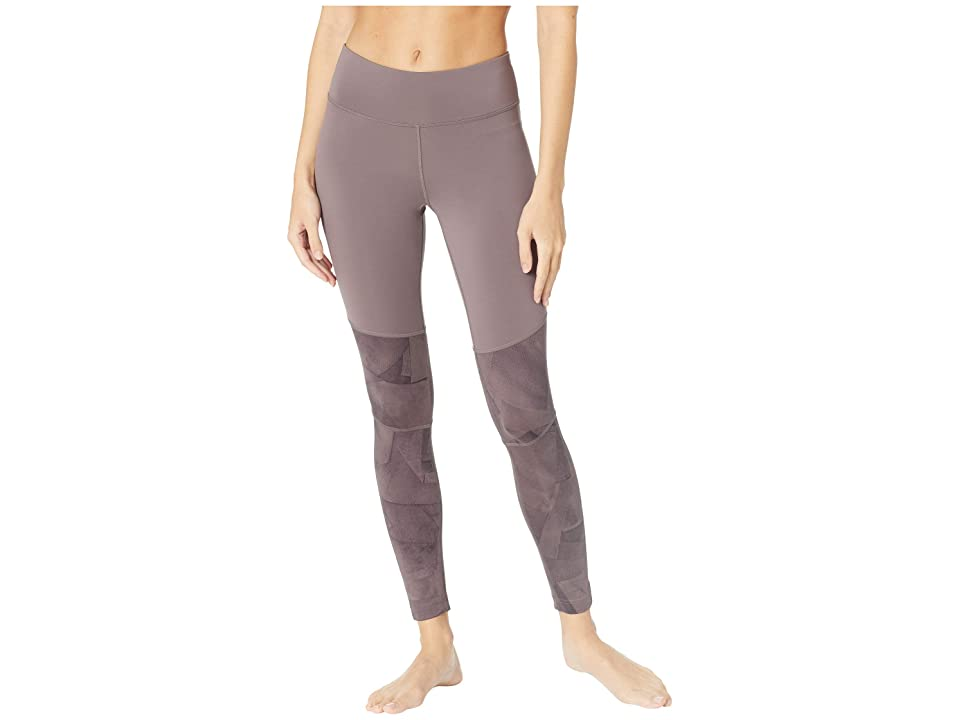 Reebok Wor Color Blocked Tights (Almost Grey) Women