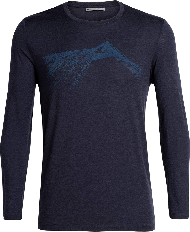 Shear Funktionsshirt Icebreaker 150 Tech Lite Longsleeve Crewe Shirt Men