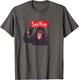 Funny Chimp Taking a Selfie T-Shirt