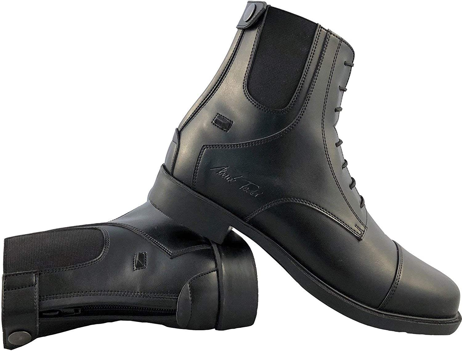 Mark Todd Back Zip Competition Short Riding Boots