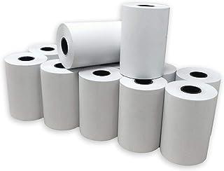 Lot de 20 - Bobine carte bancaire thermique 57 x 40 x 12 m -papier thermique pour CB 57 x 40 x 12 mm - Rouleaux machine ca...