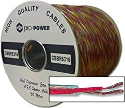 Kenable High Performance Extra Flexible OFC 189 Strand Speaker Cable Reel 100m (~330 feet)