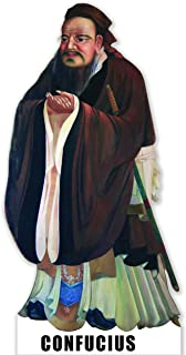 Aahs Engraving Confucius Life Size Carboard Stand Up, 6 feet