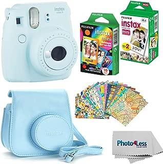 Fujifilm Instax mini 9 Instant Film Camera (Ice Blue) – Fujifilm Instax Mini..