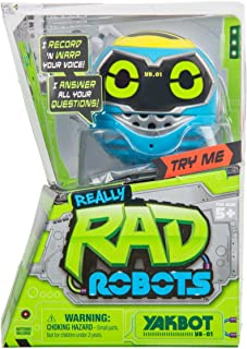 Really R.A.D. Robots Yakbot YB-01 Blue