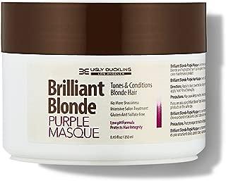 Brilliant Blonde Purple Mask 8.4 oz (250 ml). Tones & Conditions Blonde Hair. Low pH Formula, Sulfate Free, Gluten Free