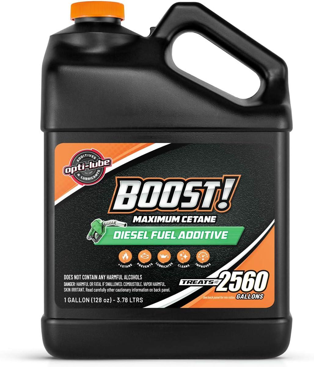 Opti-Lube Boost Maximum Cetane Formula Max 40% OFF Additive: Dealing full price reduction Ga Diesel Fuel