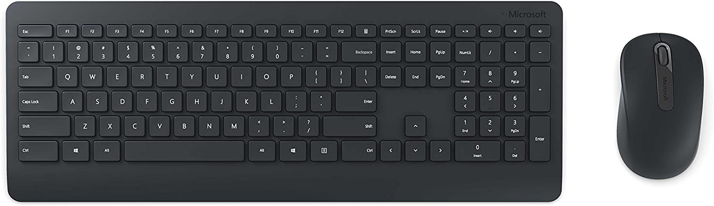 Microsoft Wireless Desktop 900 (PT3-00001),Black