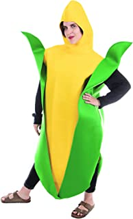 Boo Inc. Golden Corn Cobb Halloween Costume | Funny Food, Adult One-Size Unisex