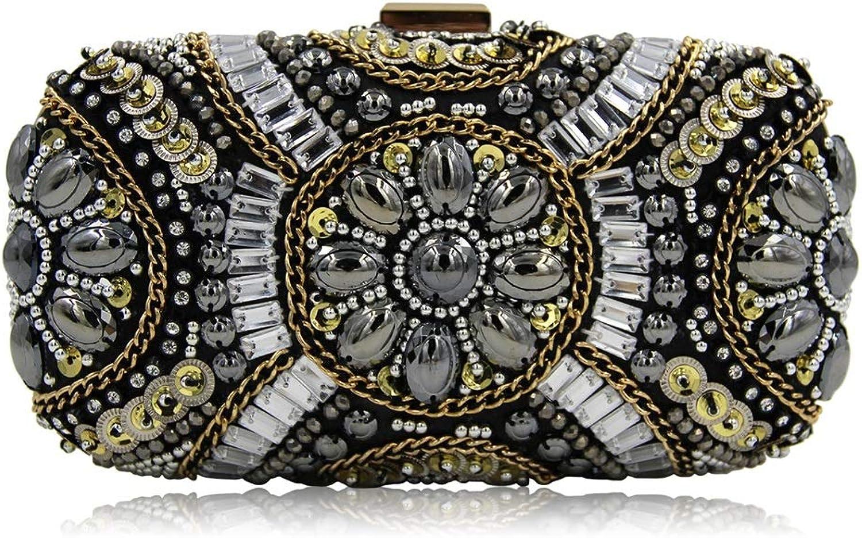 Maybesky Brautjungfer Frauen Dame Mädchen Frauen Hand genäht Perlen Dinner Bag Schmuck Handtaschen B07JJCBS3L  Wir haben von unseren Kunden Lob erhalten.