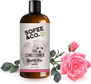 Sofee & Co. Natural Dog Puppy Conditioner - Moisturize Detangle Deodorize Condition Calm Soothe Soften Normal Dry Itchy Al...