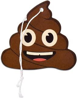 Elektroplate Poop Emoji Air Freshener, Coconut Scent, 6-Pack