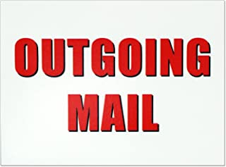 outgoing mail sign
