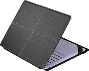 Case for Microsoft Surface Laptop 2/3/4 Surface Laptop Case Special Case Cover for 13.5 inch Surface Laptop -Black(Gift: Screen Protector)