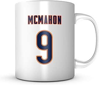 Jim Mcmahon Mug - Chicago Football Jersey Number Coffee Cup
