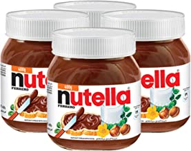 Nutella Chocolate Hazelnut Spread with Cocoa - 4 Pack, 4 x 400 g