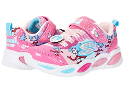 SKECHERS KIDS Dr. Seuss Shimmer Beams Funtime with Things Lighted 314988L (Little Kid) (Pink Multi) Girl