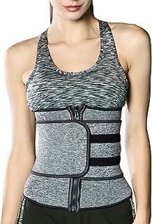 RIBIKA Womens Waist Trainer Corset Waist Tight Abdominal ControlCincher Trimmer Wraps Girdle Belt Weight Loss