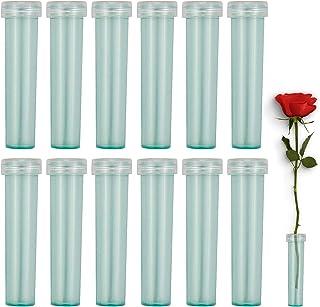 90 Pcs Tubes à Fleurs Fleur d'eau Conteneur, 7 x 1.5cm Flacons d'eau pour Arrangement de Fleurs pour Prolongez Vie de Fleu...
