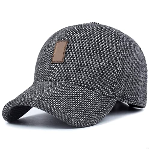 832dcea3fcf GADIEMENSS Summer Folding Brim Camo Running Cap and Winter Warm earflaps Cap