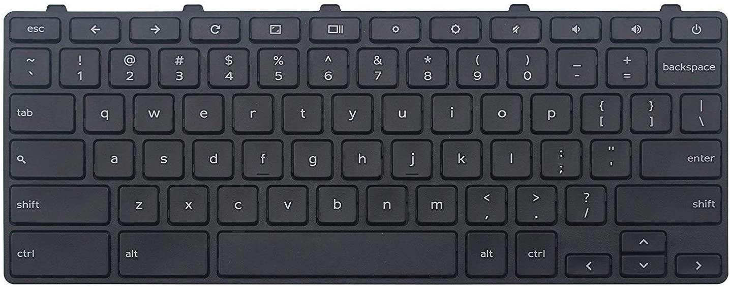 2021 new Regular store AUTENS Replacement US Keyboard for 3180 318 Dell Chromebook 3181