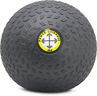 POWER GUIDANCE Slam Ball, Medicine Ball, Weight Available, 6, 8, 10, 15, 20, 25, 30 Lbs, Dead Weight,Great for Core Training & Cardio Workouts