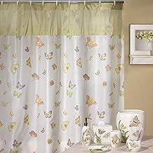 DS BATH Silk Butterfly Shower Curtain,Popular Shower Curtain,Fabric Shower Curtains for Bathroom,Contemporary Bathroom Curtains,Print Waterproof Polyester Shower Curtain,72