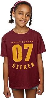 HARRY POTTER niñas Seeker 07 Camiseta 9-11 Years borgoña