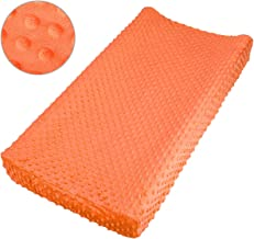 Best orange minky changing pad cover Reviews