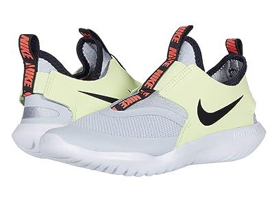 Nike Kids Flex Runner (Little Kid) (Light Smoke Grey/Black/Limelight) Kids Shoes