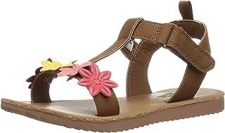 OshKosh B'Gosh Kids Colette Girl's Flower T-Strap Sandal
