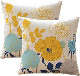 floral accent pillows