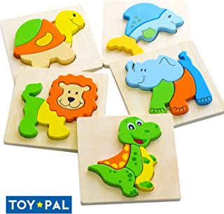 wooden puzzles for two year olds
