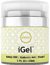 Wakai iGel Anti Aging Eye Cream - Lifting & Firming Under Eye Cream Combats Puffiness, Dark Circles & Wrinkles, With Organic Ingredients & Vitamins - Fast Absorbing & Light Formula