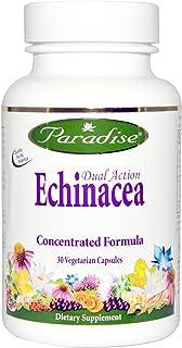 Paradise Herbs, Dual Action Echinacea, 30 Veggie Caps - 2pc