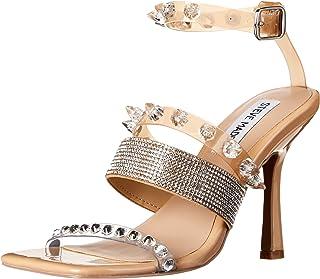 Steve Madden Women's Heeled Sandal, Blush Multi, 6