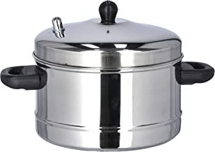 طباخ اي دي لي 4 أطباق ستانلس ستيل