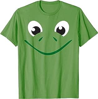 Frog Turtle Face Shirt Cute Kids Halloween Costume Animal