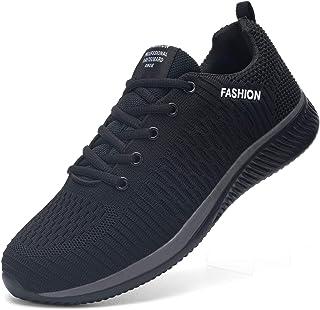 Kefuwu Zapatos de Running para Hombre Mujer Transpirables Aire Libre y Deportes Correr Asfalto Casual para Deportivas de M...