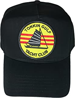 H Tonkin Gulf Yacht Club Hat - Black - Veteran Owned Business