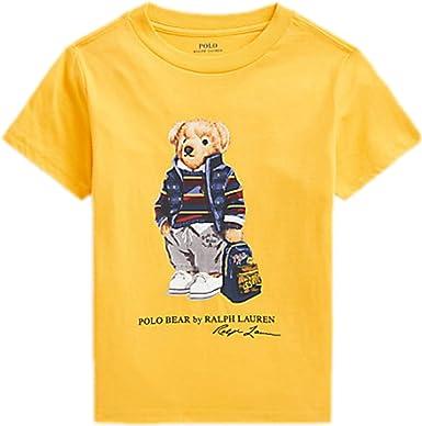 Polo Ralph Lauren - Camiseta Manga Corta Oso NIÑO ...