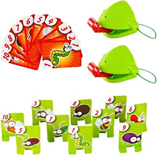 Lnsect Catching Game Tongue Game, Joint Eating Card Insect Pest Car, Greedy Chameleon Sticking Out The Tongue, Interesting...