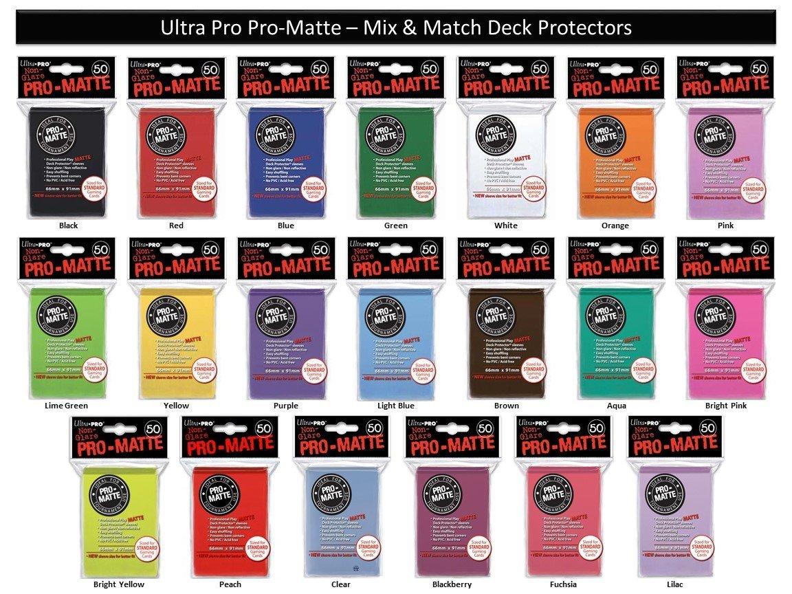 300 Ultra Pro PURPLE DECK PROTECTOR Standard Size Card Sleeves 6 packs rpg MTG
